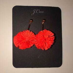 J. Crew Jewelry - J.Crew Pom Pom Earrings